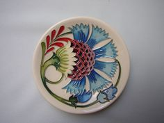 Moorcroft Pin Tray Collection of Smiles Design - Made in England