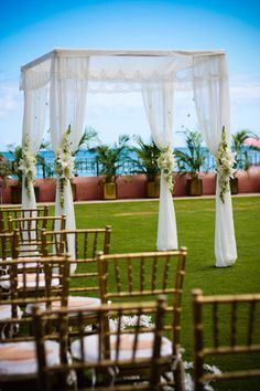 David and I cherish that we will celebrate Jewish and Christian traditions at our wedding and in our life together. We will get married under a chuppah, which symbolizes the home that the couple will build together. In a spiritual sense, the covering of the chuppah represents the presence of God over the covenant of marriage.