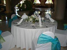 Reception Set up. #destinationweddings