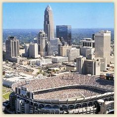 Both the NFL Carolina Panthers stadium and NBA Charlotte Bobcats Arena are located in Uptown Charlotte.  Uptown Charlotte is also just a quick drive away from Charlotte Motor Speedway with 3 yearly NASCAR Sprint Cup races, the Charlotte Knights baseball team and Charlotte Checkers hockey.