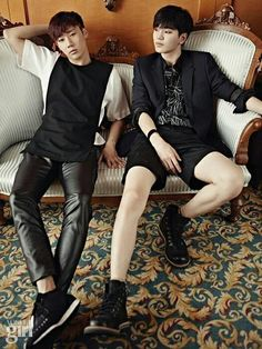 [PIC] 140901 Vogue Girl Magazine September Issue Official Photos - #인피니트 Sunggyu and Sungjong pic.twitter.com/JOlDLGcOwb