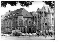 Eine Aufnahme von Außen aus dem Jahr 1979   Quelle: Hauschild