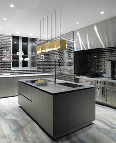 Grey-perhaps add just a touch more white ;) http://www.pinterest.com/nessa191/interior-design/ #grey #kitchen