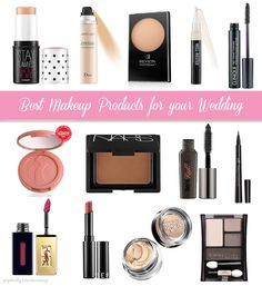 Top Makeup Products for Brides || Perpetually Daydreaming, bridal makeup, wedding makeup, beauty