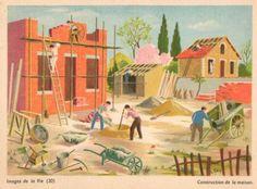 Images de la Vie (20) – Construction de la maison by Hélène Poirié