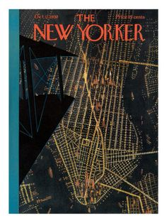 Theodore Haupt  The New Yorker Cover - October 11, 1930 Premium Giclee Print