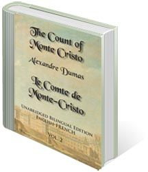 The Count of Monte Cristo, Unabridged Bilingual Edition: English-French, Vol. Counting, English, French, Reading, Store, Books, Libros, French People, Larger