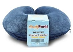 #6. Comfortable Travel Pillow Memory Foam Pillow