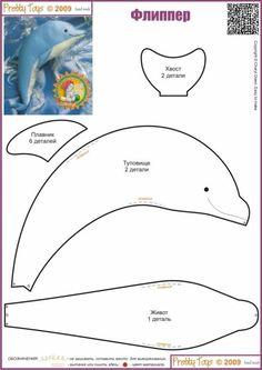 Patroon voor dolfijn