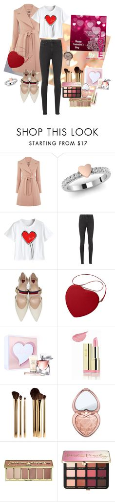 """Never Get Lost In Translation"" by tattooedmum on Polyvore featuring rag & bone, Gucci, Lancôme, Milani, Sephora Collection, Too Faced Cosmetics, tarte, FOSSIL, gucci and contestentry"