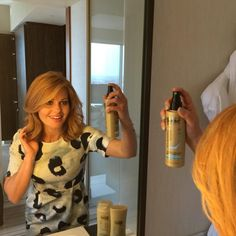 """It's a good hair day! for textured waves w/ Sea Mineral Infusion Sea Salt Spray. Candace Cameron Bure, Sea Salt Spray, Teaching Outfits, Shopping Day, Good Hair Day, Dress For Success, Nice Dresses, Cool Hairstyles, Wrap Dress"
