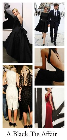 Black Tie Affair | What To Wear to a Black Tie Wedding