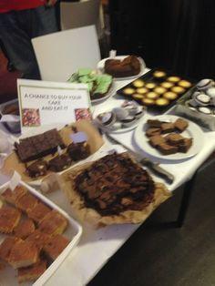 Old College Bake Sale!