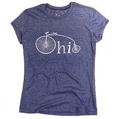 Ohio Women's Bike Tee