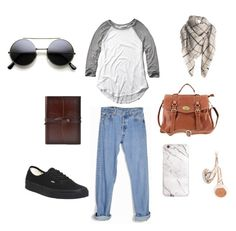 """""""Untitled #36"""" by megsgalley on Polyvore featuring Abercrombie & Fitch, Levi's, Vans, Frends, women's clothing, women's fashion, women, female, woman and misses"""