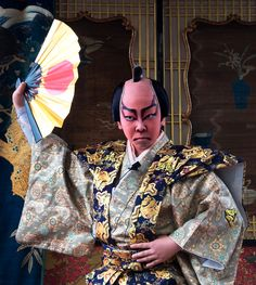 """Like in real kabuki theater, boys perform both male and female roles and like in real kabuki, they fully engage in their acting. """" Text and..."""