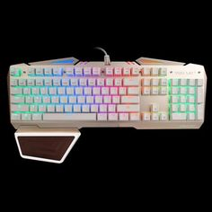 Team Wolf X01S CIY Wired USB Mechanical Keyboard with LED Indicator #hats, #watches, #belts, #fashion, #style