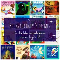 Books for Happy Bedtimes - stories for kids who are reluctant to go to bed