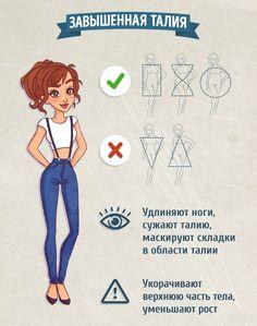 Как выбрать джинсы для своего типа фигуры: гид по фасонам 2