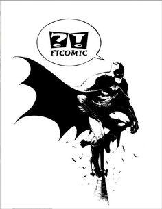Exclusive Greg Capullo's artwork for Comic Con Barcelona.