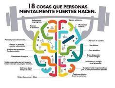 18 cosas que te hacen fuerte mentalmente
