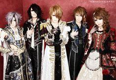 Versailles - Teru, Masashi, KAMIJO, Yuki & Hizaki