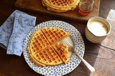 Sunday Best: Homemade Waffles | In Jennie's Kitchen