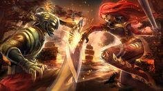 Katarina vs. Master Yi - League of Legends Wallpaper