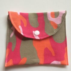 Camouflage wet bag  padwrapper by leonorafi on Etsy