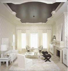 plafond, kun je met piepschuim maken