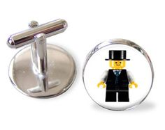 Lego Minifig Grooms Groom Grooms Wedding Cufflinks Cuff Links Round Glass Hand made CuffLinks Lego Wedding, Wedding Groom, Wedding Gifts, Calvin And Hobbes, Round Glass, Bride, Unique Jewelry, Handmade Gifts, Accessories