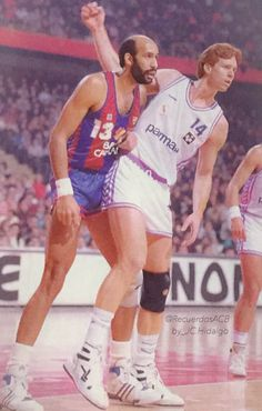 Real madrid vs FCB, 88/89. Granville Waiters, Johnny Rogers.