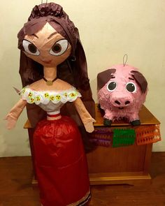 Maria Posada of Book of Life Piñata by PinataPros on Etsy Birthday Book, Fall Birthday, 3rd Birthday Parties, Birthday Ideas, Halloween Crafts For Kids, Halloween Party, Halloween Decorations, Kids Science Projects Easy, Party Props