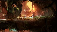 ori and the blind forest - different type of mood and atmosphere for the forest