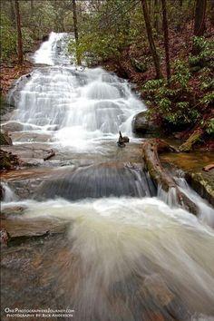 Fall Branch Falls, GA. Blue Ridge - http://www.blueridgemountains.com/printer%20friendly%20maps/9Waterfalls-2016V2.1RGB.pdf