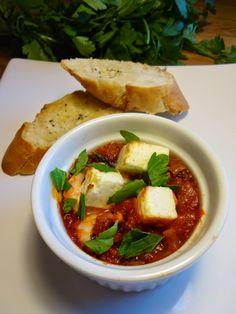 Edel's Mat & Vin : Reker & fetaost i tomatsaus ♫♪    Mange smaker i en liten form ! Spis & Nyt ♫♪