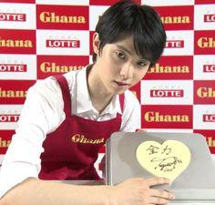 ヤバイ・・・ガーナチョコレートを手作りする羽生結弦君が可愛い過ぎる | フィギュアスケートまとめ零