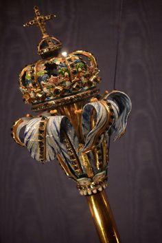 Sceptre of King Frederick III, Denmark (1648; gold, diamonds, enamel).