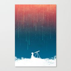 Buy Meteor Rain (light version) by Budi Kwan as a high quality Canvas Print. Worldwide shipping available at Society6.com. Just one of millions of products available.