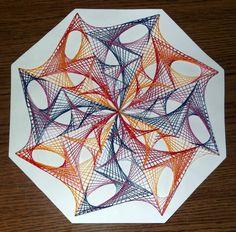 String art mandala by terhesati on DeviantArt