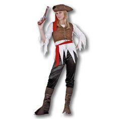 Disfraz Pirata Caribeña.
