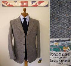 Donegal tweed jacket #tweed #jacket #nattyguy #mensfashion