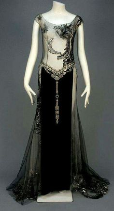 1930s vintage gown