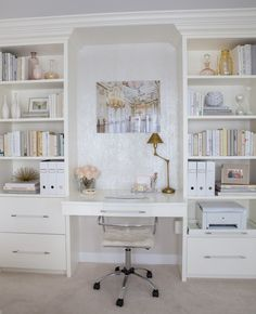 Office magic from Peridot Decorative Homewear that's neutral and serene.