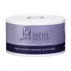 Satin Smooth Non-Woven Roll will help to achieve flawless removal of wax. Cut cloth down to the size that you need.