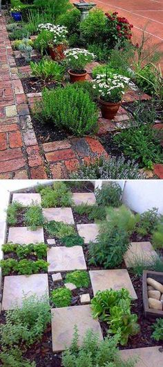 15 Fascinating Vegetable Garden Ideas | Pinterest | Herbs garden ...