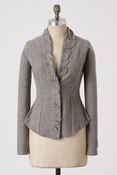 Arbor Vines Knitted Jacket at Anthropologie