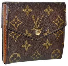 Louis Vuitton Vintage Monogram Double Sided With Coin Pouch $174