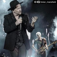 "#Repost @brian_mansfield ・・・ ""What an extraordinary thing @Bonnaroo is. Thank you for naming it after me.""--#Bono . . #U2 #Bonnaroo #concertphotography #livemusicphotography #u2thejoshuatree2017 #U2bonnaroo"