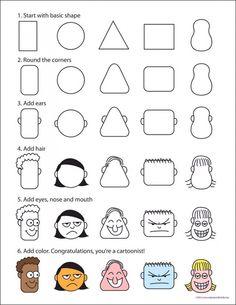 ART: Cartoon-Heads post